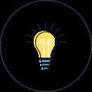 Glühlampe Icon